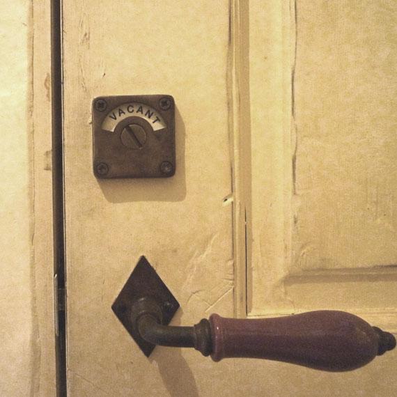 アンティーク加工表示錠